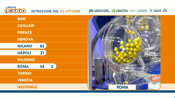 gioco lotto tv